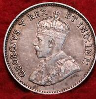 1911 CANADA 5 CENTS SILVER FOREIGN COIN