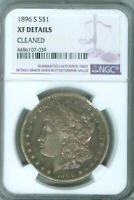1896-S MORGAN DOLLAR - NGC  EXTRA FINE  DETAILS CLEANED FREE S/H 2025715