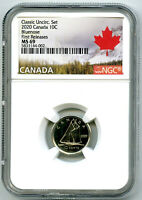 2020 CANADA 10 CENT CLASSIC DIME NGC MS69 FIRST RELEASES  TO
