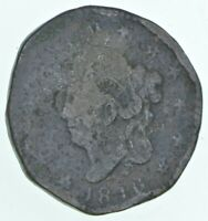 BETTER 1816 MATRON HEAD US LARGE CENT PENNY COIN COLLECTION