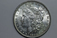 1882-O CLASHED DIES GRADES ABOUT UNCIRCULATED MORGAN 90 SILVER DOLLAR MDX4001