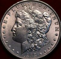 UNCIRCULATED 1898 O NEW ORLEANS MINT   MORGAN DOLLAR