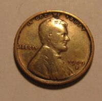 1909 S VDB  TYPE 4 OBVERSE  LINCOLN CENT PENNY   FINE CONDIT