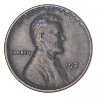 BETTER 1924 D   US LINCOLN WHEAT CENT PENNY COIN COLLECTION