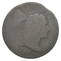 1796 FLOWING HAIR LARGE CENT 9169