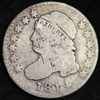 1814 CAPPED BUST DIME CHOICE SHIPS FREE E246 WMT