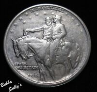 1925 STONE MOUNTAIN COMMEMORATIVE HALF DOLLAR <> XF DETAILS