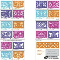 MINT USPS FOREVER STAMPS. COLORFUL CELEBRATIONS 2016 MNH BOOKLET OF 20