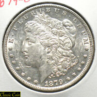 1879-O U.S. MORGAN SILVER DOLLAR $1 UNCIRCULATED DETAILS 90 SILVER TOUGHER DATE