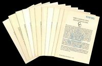 LOT OF 11 1881 CARSON CITY GSA CERTIFICATES IN  CONDITION 153367
