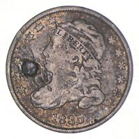 1835 CAPPED BUST DIME   CHARLES COIN COLLECTION  466
