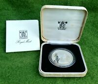 OFFICIAL ROYAL MINT 1980 SILVER PROOF CROWN QUEEN MOTHER 80T