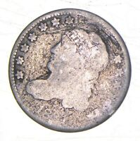 1831 CAPPED BUST HALF DIME   WALKER COIN COLLECTION  973
