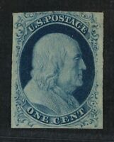 CKSTAMPS: US STAMPS COLLECTION SCOTT7 1C FRANKLIN UNUSED REG