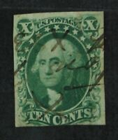 CKSTAMPS: US STAMPS COLLECTION SCOTT16 10C WASHINGTON USED T