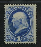 CKSTAMPS: US STAMPS COLLECTION SCOTT134 1C FRANKLIN UNUSED R