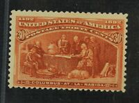 CKSTAMPS: US STAMPS COLLECTION SCOTT239 30C COLUMBIAN MINT N