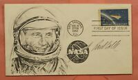 1962 FDC 1193 PROJECT MERCURY HAND DRAWN ARTIST PAUL CALLE S