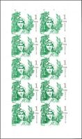 US 5295 STATUE OF FREEDOM ONE DOLLAR EMERALD GREEN $1 SHEET  10 STAMPS  MNH 2018