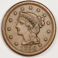 1850 LARGE CENT.  EXTRA FINE .  151182