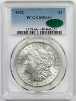 1902 $1 PCGS/CAC MINT STATE 66  BETTER DATE MORGAN SILVER DOLLAR