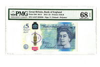 2015 5PD GREAT BRITAIN BANK OF ENGLAND WINSTON CHURCHILL PMG