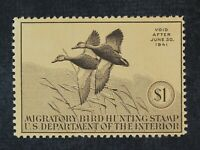 CKSTAMPS: US FEDERAL DUCK STAMPS COLLECTION SCOTTRW7 $1 MINT