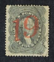 CKSTAMPS: US STAMPS COLLECTION SCOTT37A 24C WASHINGTON USED