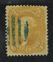 CKSTAMPS: US STAMPS COLLECTION SCOTT67 5C JEFFERSON USED TEA
