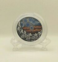 2020 $1 SILVER PROOF COIN STAR DREAMING THE SEVEN SISTERS RA