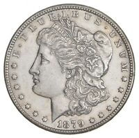 1879-S MORGAN SILVER DOLLAR - REV OF 78 7425
