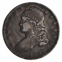 1833 CAPPED BUST HALF DOLLAR - CIRCULATED 9042