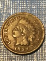 1899 INDIAN HEAD PENNY.