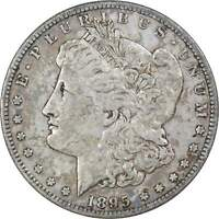 1895 S $1 MORGAN SILVER DOLLAR COIN VF  FINE