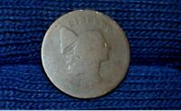 1795 HALF CENT  C6A  PLAIN EDGE  NO POLE   BROWNTAKE 5 OFF AT CHECKOUT