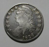 1826 CAPPED BUST HALF DOLLAR   FINE CONDITION   163SA