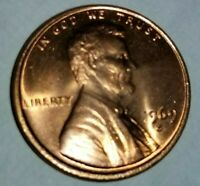 1969 S LINCOLN  MEMORIAL PENNY DOUBLE DIE OBVERSE/BEAUTIFULL