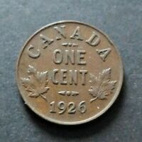 1926 CANADA 1 CENT COIN FINE CIRCULATED CONDITION LOT23
