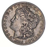 1895-S MORGAN SILVER DOLLAR - KEY DATE 8399