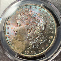 MORGAN SILVER DOLLAR 1885 O PCGS MINT STATE 65
