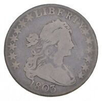 1803 DRAPED BUST HALF DOLLAR   JACOBS COIN COLLECTION  400
