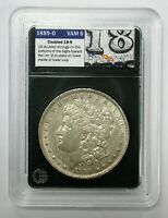 1889-O MORGAN SILVER DOLLAR VAM 6 R-5 VSS DOUBLE 18 - 9 TOP 100  EXTRA FINE
