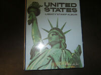 US HARRIS LIBERTY ALBUM 1847 1992 COLLECTION OF 700 USED STA