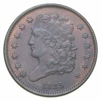 1835 CLASSIC HEAD HALF CENT   WALKER COIN COLLECTION  536