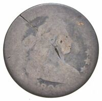 WORN DATE DRAPED BUST DIME   CHARLES COIN COLLECTION  724