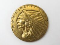 UNITED STATES 1912 INDIAN GOLD QUARTER EAGLE $2.50 COIN