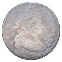 1807 DRAPED BUST DIME   CHARLES COIN COLLECTION  722