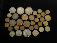 COLLECTION OF 34X INDIANS COINS 19TH 20THC BRITISH RAJ