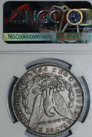 BETTER DATE 1895-O MORGAN SILVER DOLLAR NGC GRADED AU DETAILS CLEANED DEAN