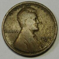 1909-S LINCOLN CENT GRADING FINE  UNCLEANED COIN PRICED RIGHT FREE S&H  Q5